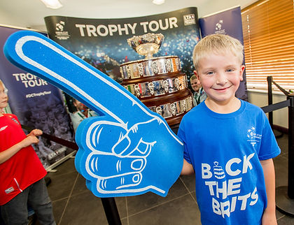 Davis Cup Trophy Tour at Horncastle Tennis 2016