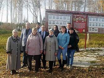 В Шахматово открыли мемориальный стенд