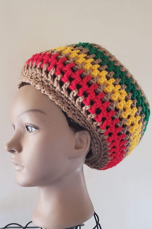 UNISEX - Crowned Dreadlock Tam - THICK LOCS