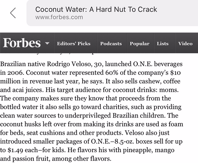 Forbes Placement