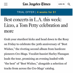 LA Times.CroMags