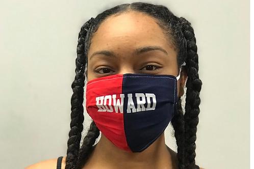 Howard Blue/Red Mask