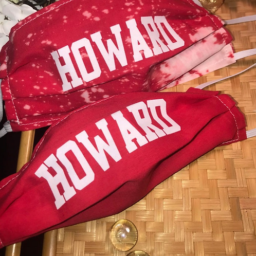 Howard Red Face Mask