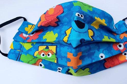 Kids Sesame Street Face Mask