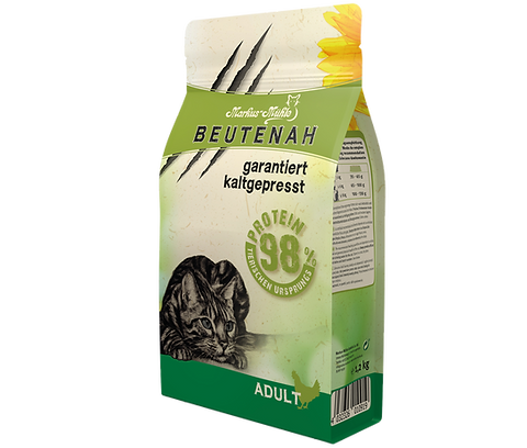 Beutenah Cold Pressed Cat Food 1.2KG