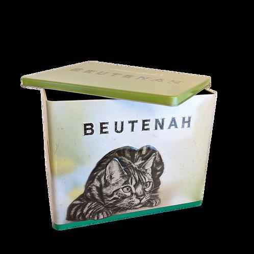 Cat Food Tin + 3kg Bag of Beutenah