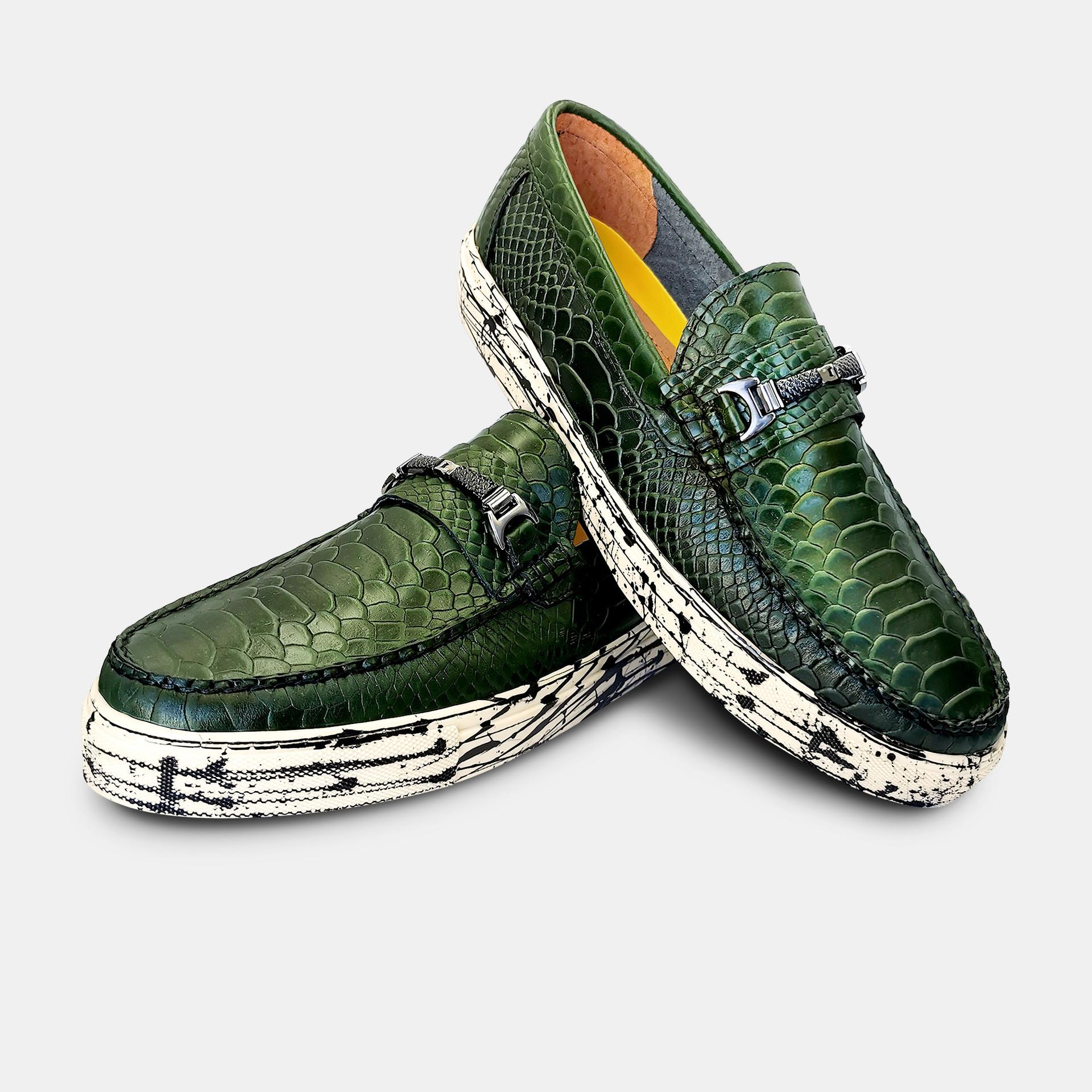 Randem-Sneaker-Spender-Wild-Python-Olive