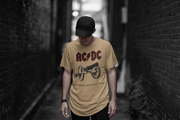 Playera AC/DC