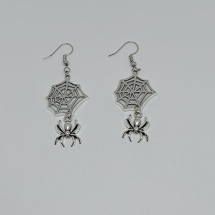 Arete araña y telaraña