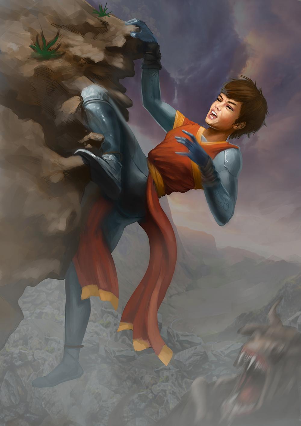 Sila climbing character vali lancea