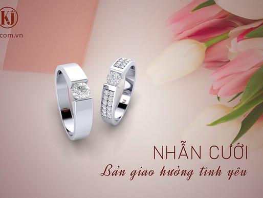 Bộ sưu tập Bản giao hưởng tình yêu- Tổng hợp những mẫu nhẫn cưới đính nhiều kim cương