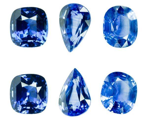 Màu sắc đẹp nhất của Saphire là xanh tuyền đậm như nước biển trưa hè