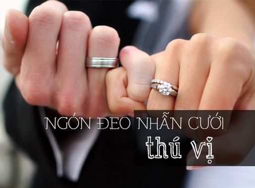 Ngón tay đeo nhẫn cưới- Khám phá điều thú vị