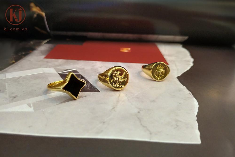 Những chiếc nhẫn nam Singnet với phong cách Casual đơn giản