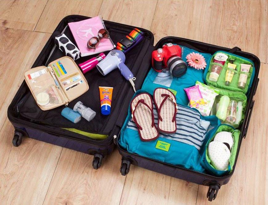 Chuẩn bị hành lý về nhà chồng