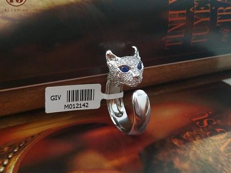 Nhẫn mèo Elf thiết kế theo yêu cầu khách hàng Elena