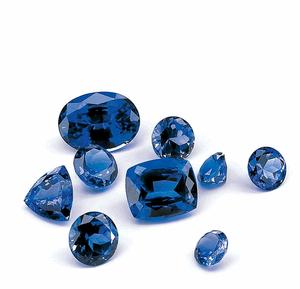 Sắc xanh Saphire biểu trưng cho trí tuệ