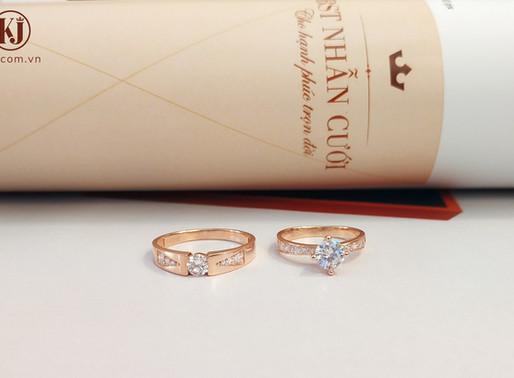 Tổng hợp những mẫu nhẫn cưới đính đá đẹp nhất mùa cưới 2020
