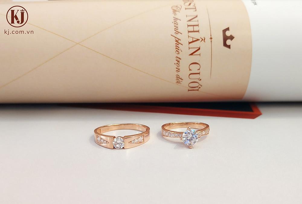 Cần lưu ý đến tính tiện dụng của nhẫn cưới đính đá cao