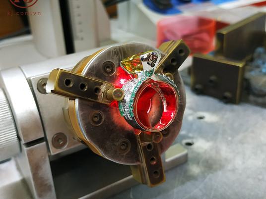 Nhẫn Rồng thiết kế cho khách hàng Kat Rina đến từ Chicago