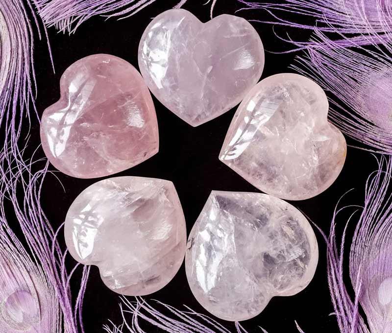 Vẻ đẹp ngọt ngào của những viên đá thạch anh hồng