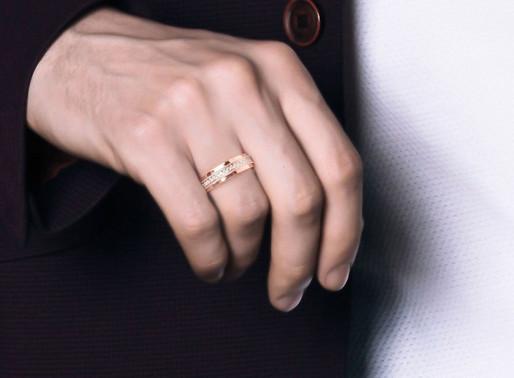 Nam giới có nên đeo trang sức vàng hồng?