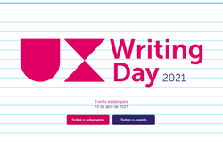 UX writing day