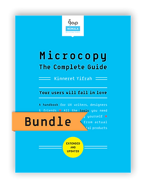 Microcopy: The Complete Guide | BUNDLE (eBook + Paperback)