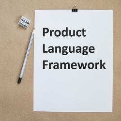 Product Language Framework