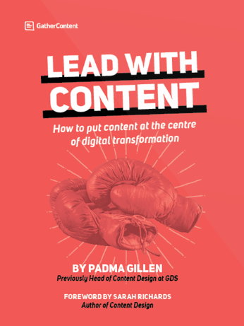 Lead with Content