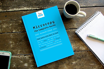 The book Microcopy The Complete Guide