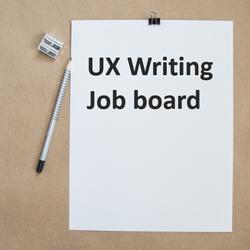 by UX Writing Hub