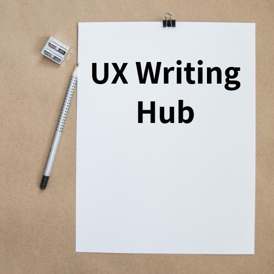 UX Writing Hub1