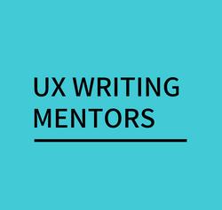 UX Writing Mentors