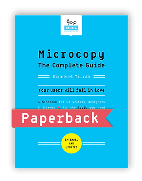 Microcopy: The Complete Guide | Paperback