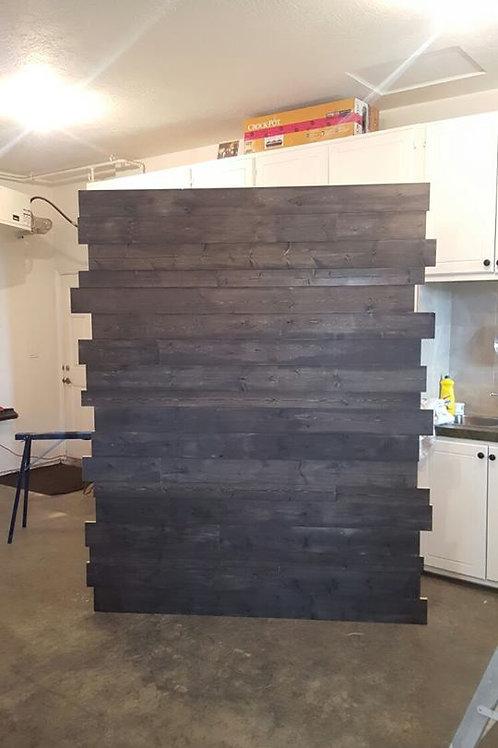 Dark Grey Wood Backdrop