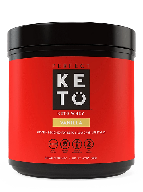 Proteina de Suero Whey Perfect Keto