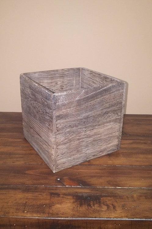 Brown Wood Grain Box