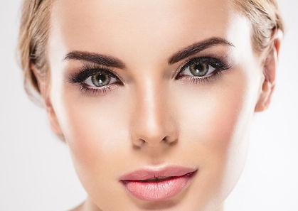 Beautiful Woman Face Closeup Eye woman E