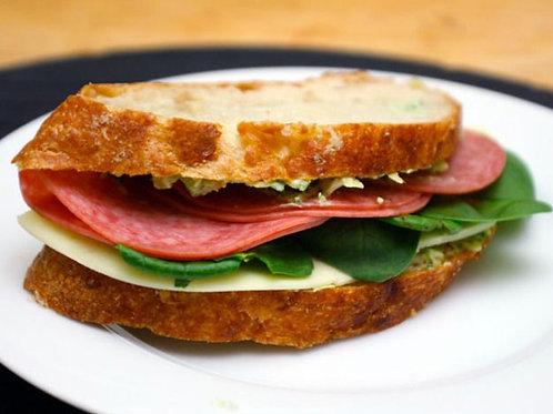 Taste of Salami Sandwich