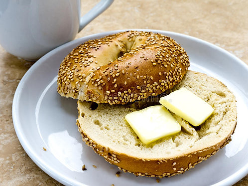 New York Bagel with Butter