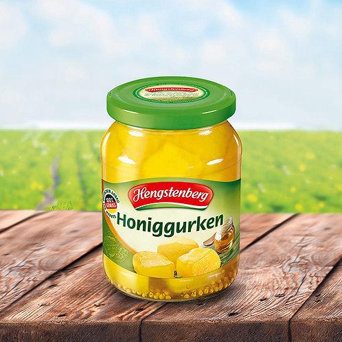 Hengstenberg Honiggurken (Gherkin Bits with Honey) 12.5 oz (370ml)