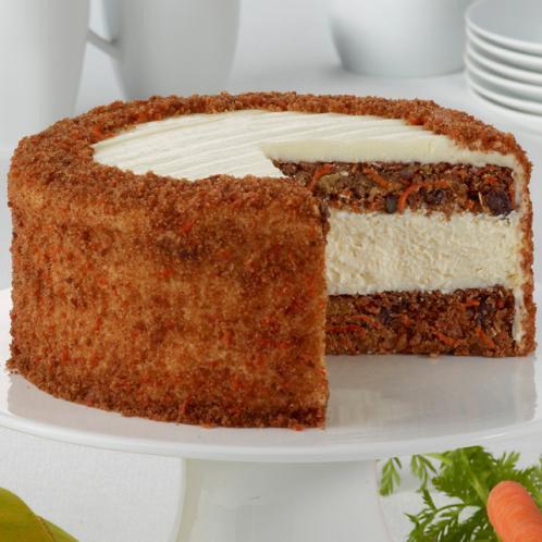 Junior's Skyscraper New York Carrot Cake Cheesecake Slice (on rotation)