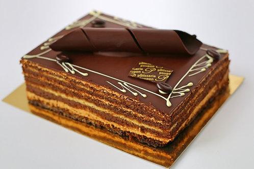 Opera Cake - 1/8 sheet (serves 8)