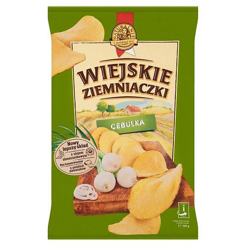 Lorenz Onion Potato Chips (Wiejskie Ziemniaczki Cebulka) 4.6 oz (130g)