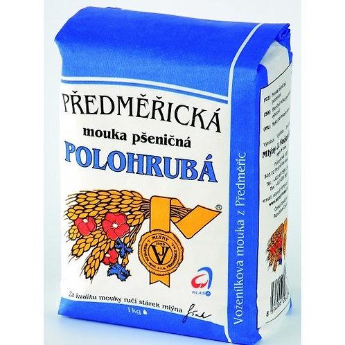 Předměřická Wheat Flour (Mouka Pšeničná Polohrubá) 1kg