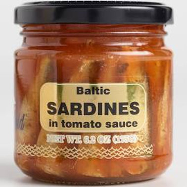 Baltic Gold Sardines (Sprats) in Tomato Sauce 6.2 oz (175g)