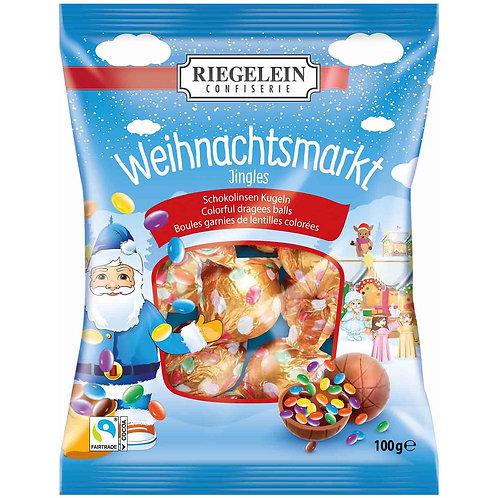 Riegelein Milk Chocolate Balls (Weihnachtsmarkt) 3.5 oz (100g)