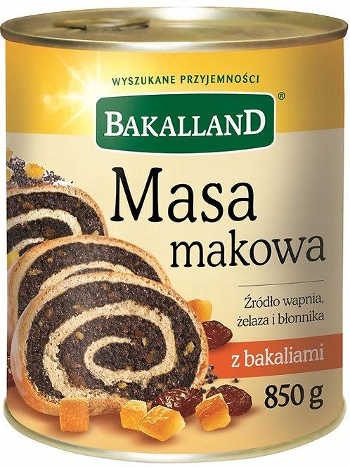 Bakalland Masa Makowa Poppy Seed Filling 30 oz (850g)