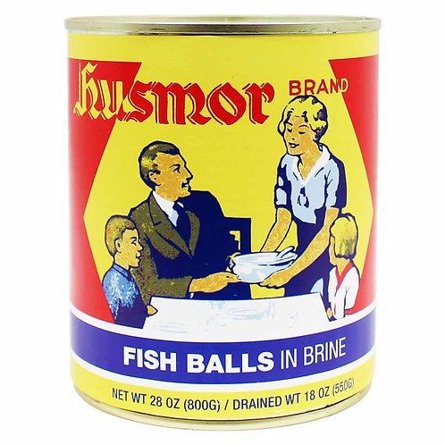 Husmor Fish Balls in Brine 28 oz (800g)